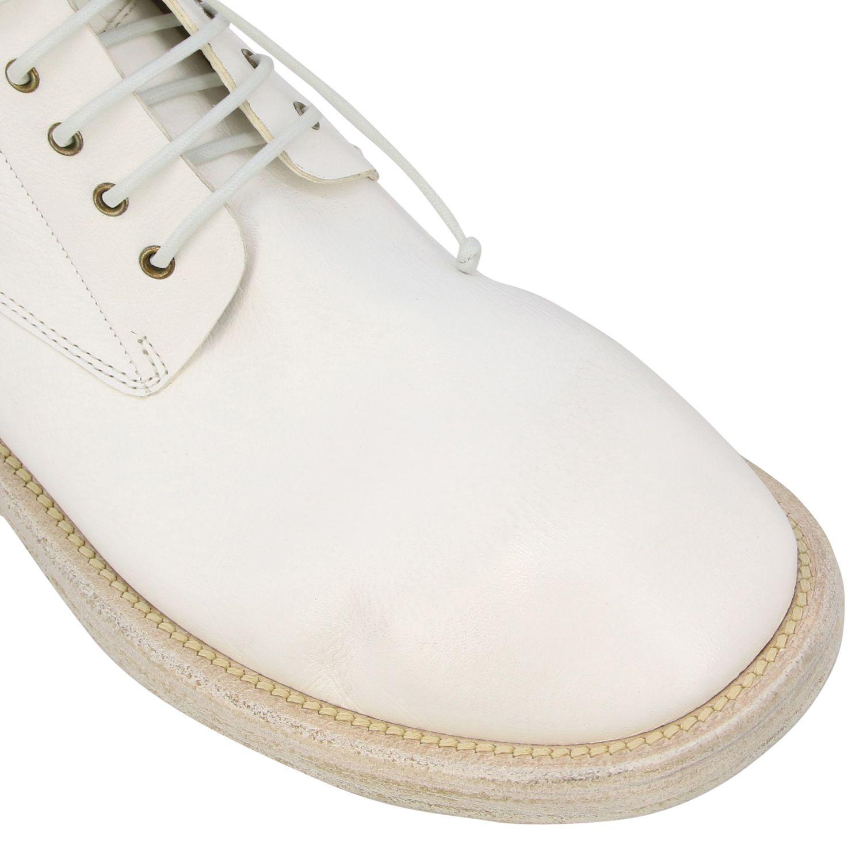 Marsell Dodone Stiefelette aus Leder weiß 4