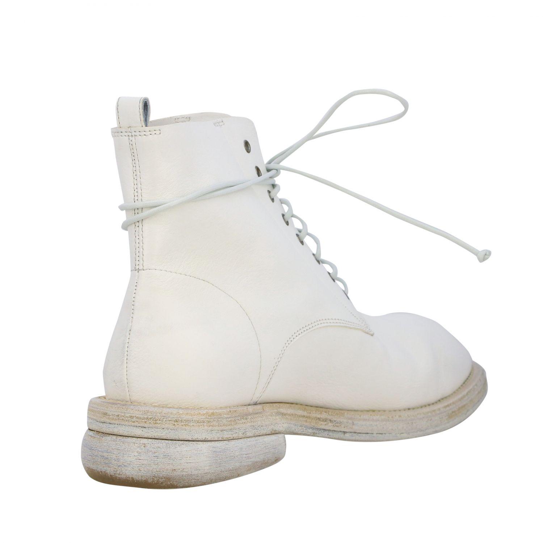 Marsell Dodone Stiefelette aus Leder weiß 5