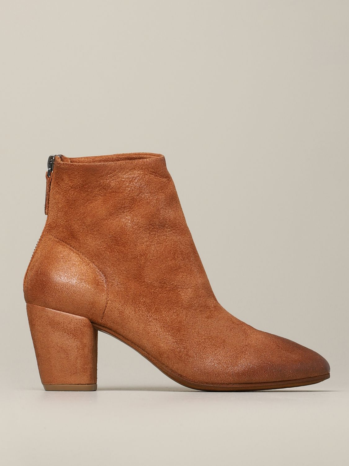 Heeled ankle boots women Marsell leather 1