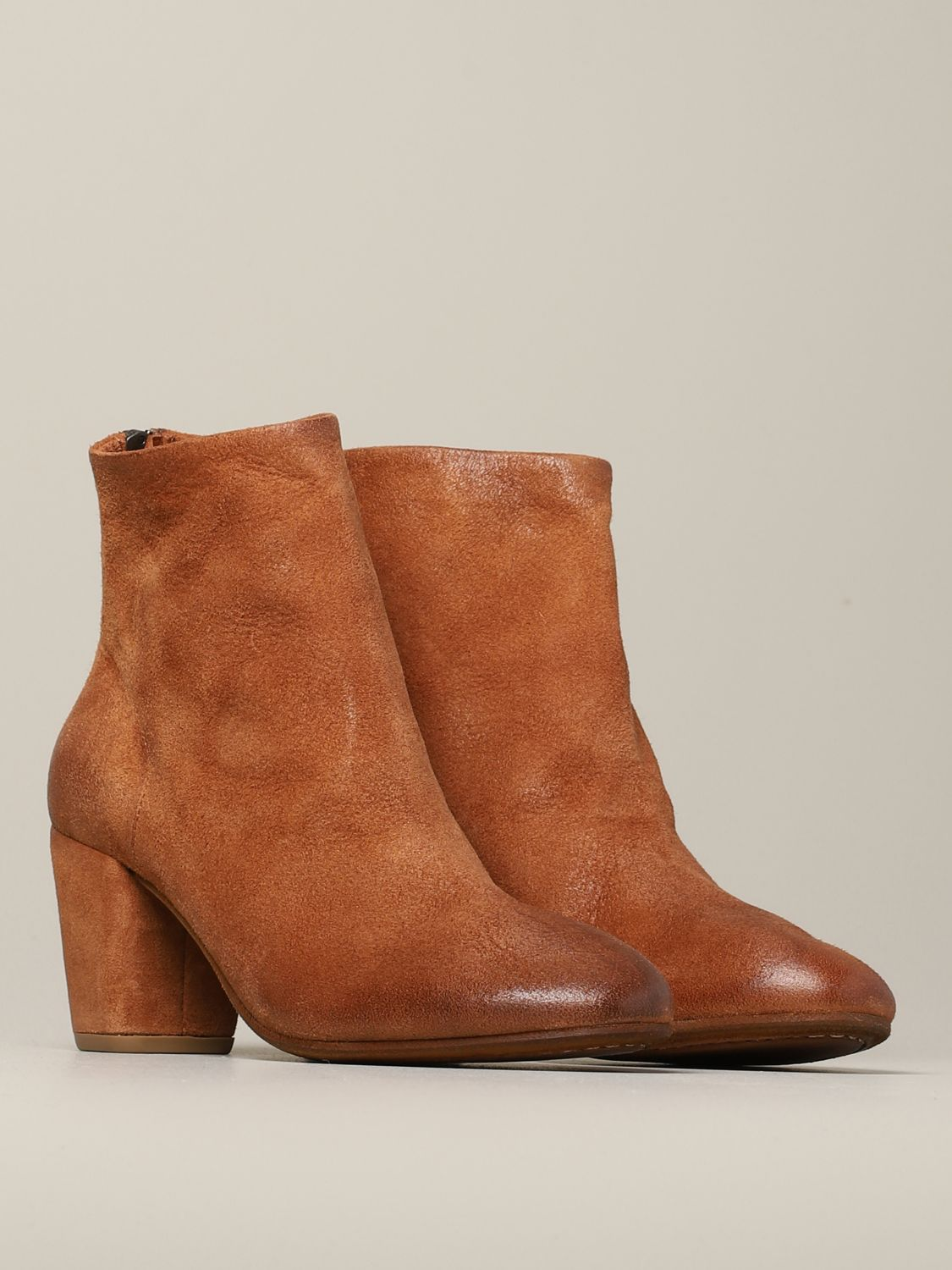Heeled ankle boots women Marsell leather 2