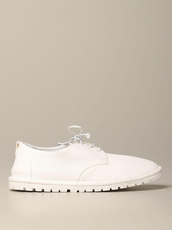 Marsèll Sancrispa derby in leather white 1