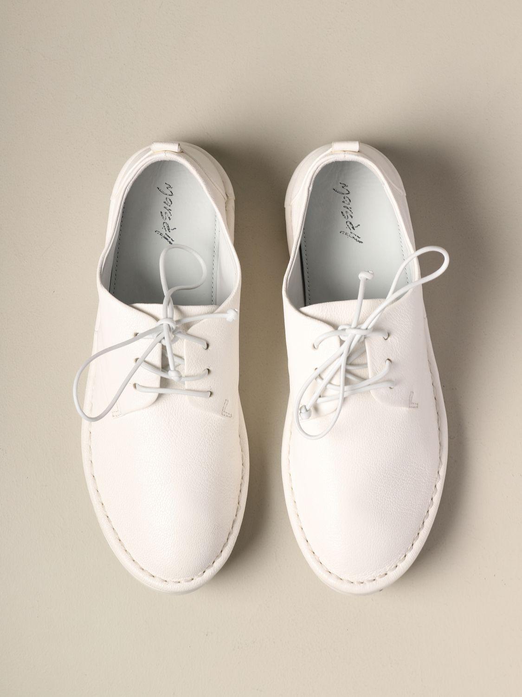 Marsèll Sancrispa derby in leather white 3