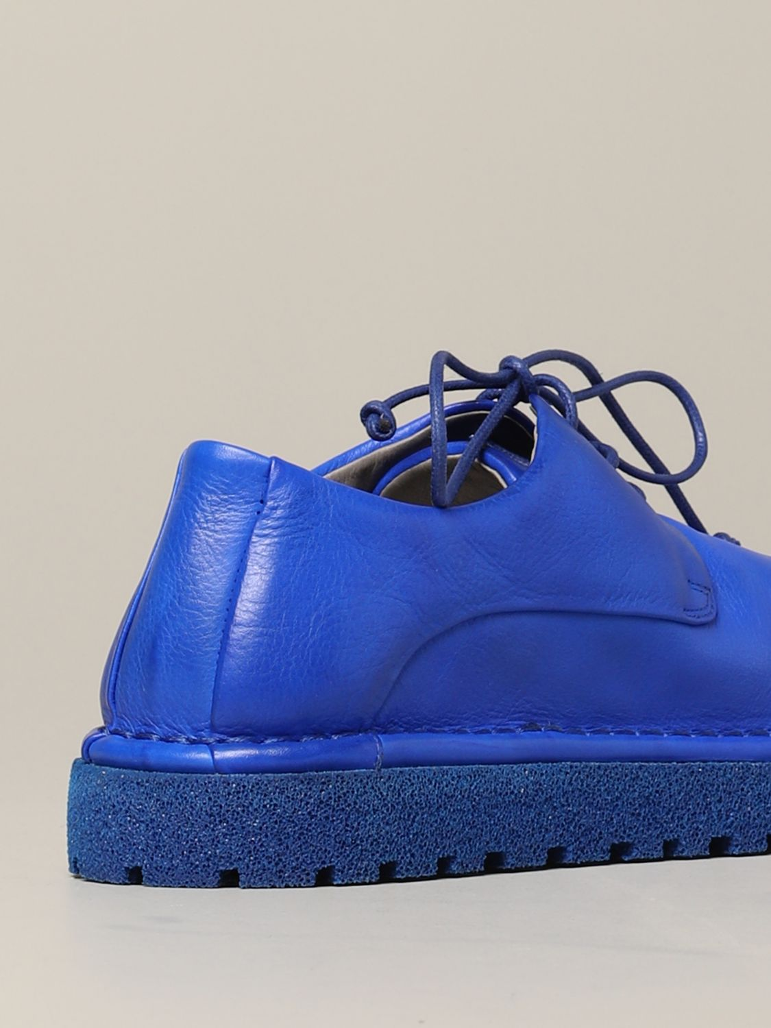 Marsèll Derby Pallottola pomice in leather blue 5