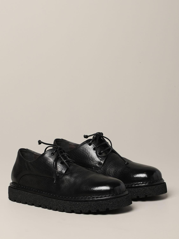 Derby Marsèll Pallottola pomice in leather black 2