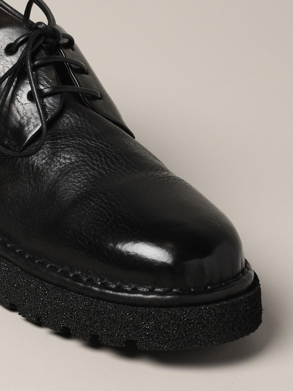 Derby Marsèll Pallottola pomice in leather black 4