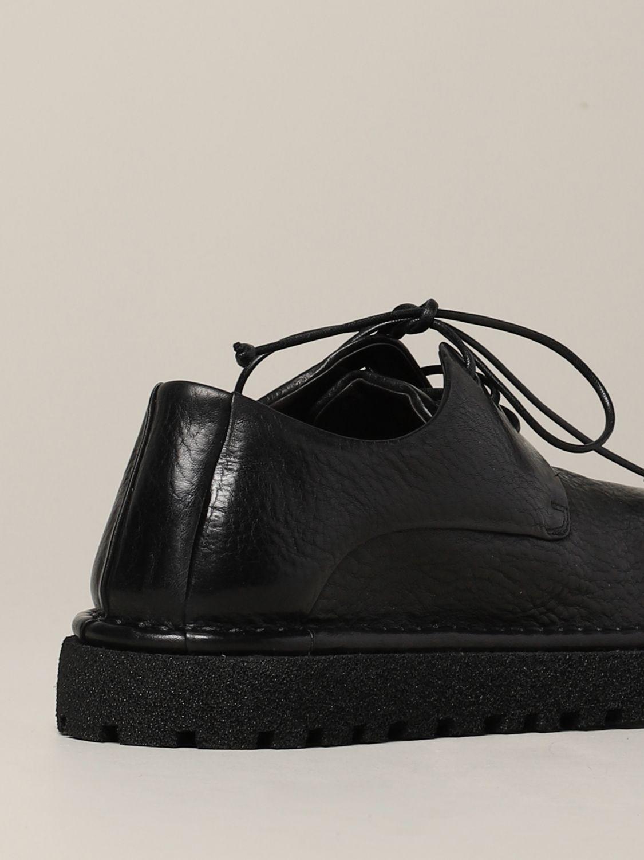 Derby Marsèll Pallottola pomice in leather black 5