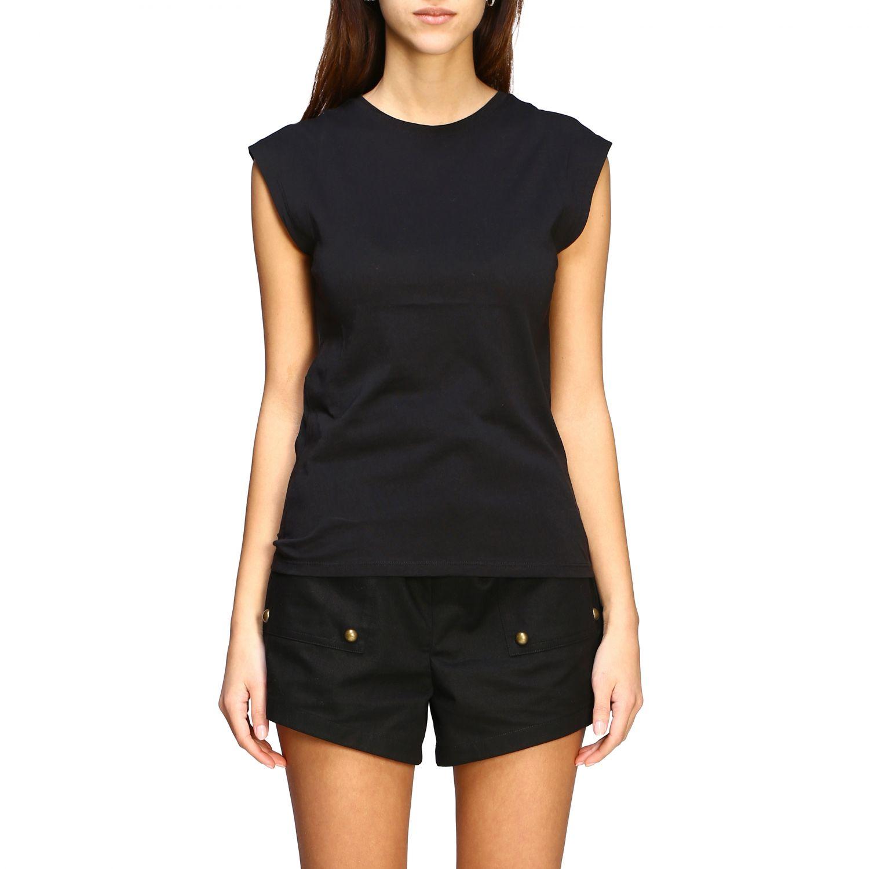 T-shirt women Frame black 1