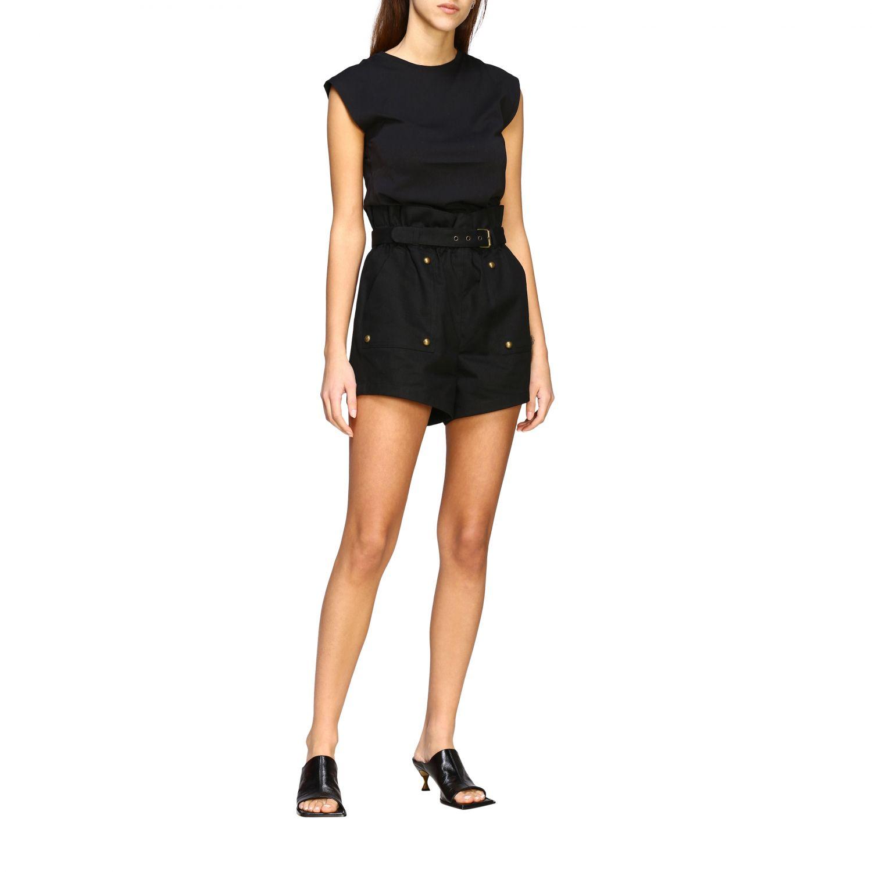 T-shirt women Frame black 2