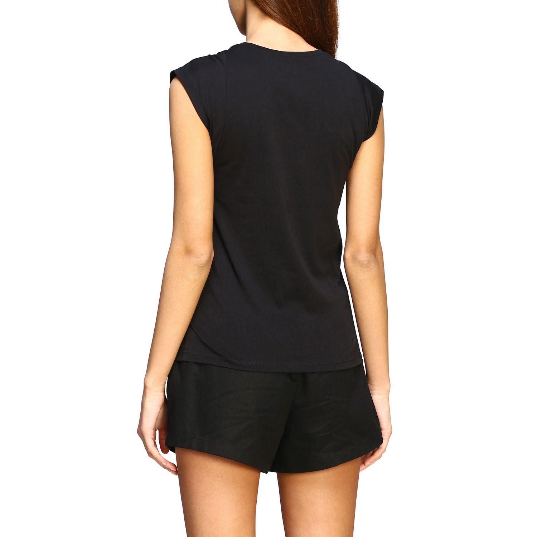 T-shirt women Frame black 3