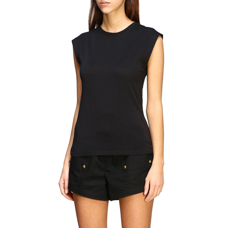 T-shirt women Frame black 4