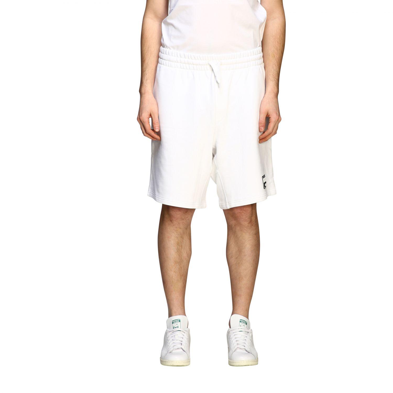 Moschino Couture Bermuda im Jogging Stil weiß 1