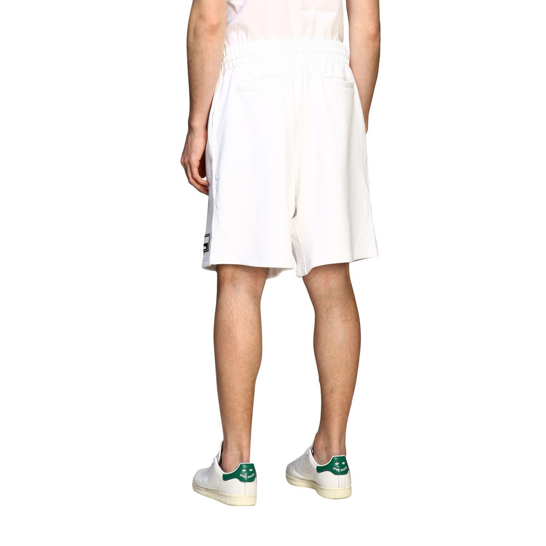 Moschino Couture Bermuda im Jogging Stil weiß 3