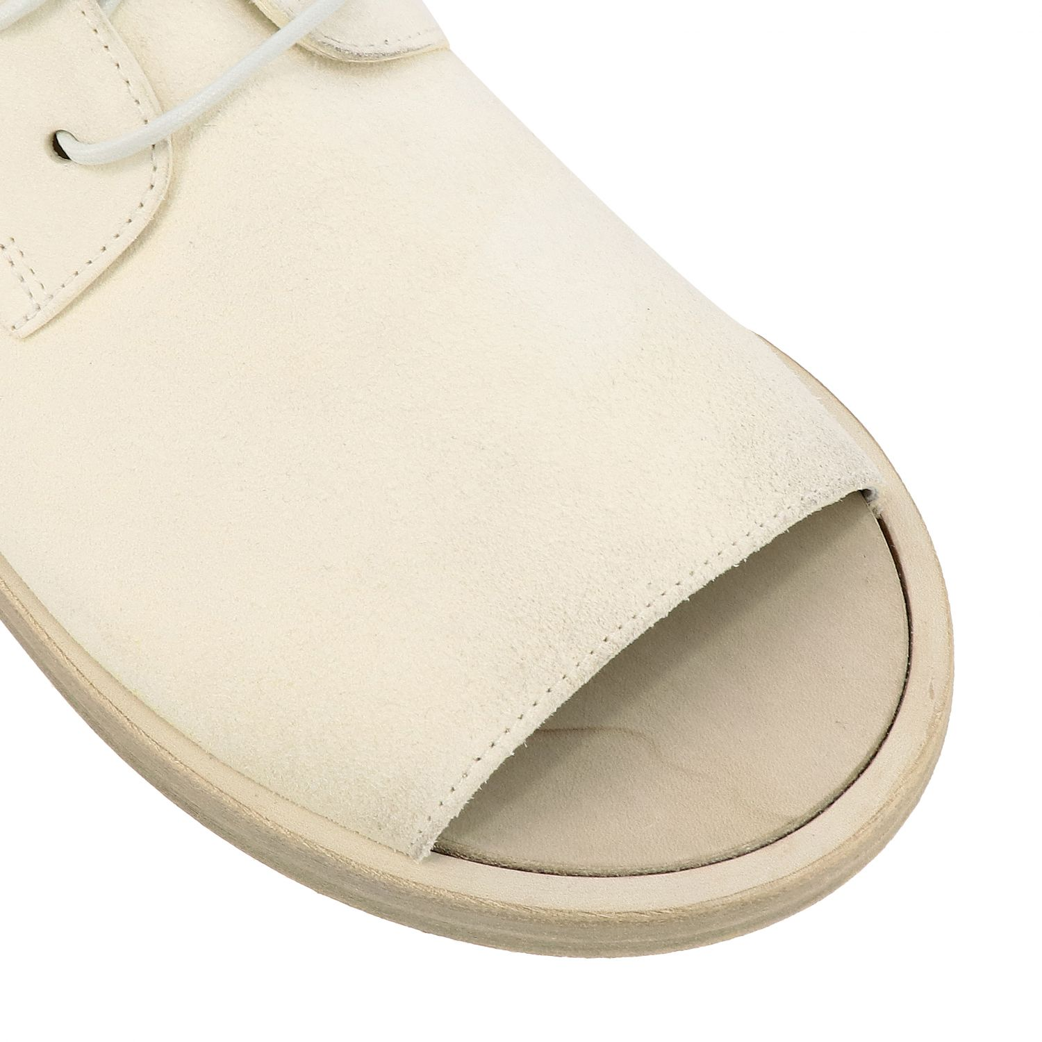 Sandals Marsell: Sandals men Marsell white 4