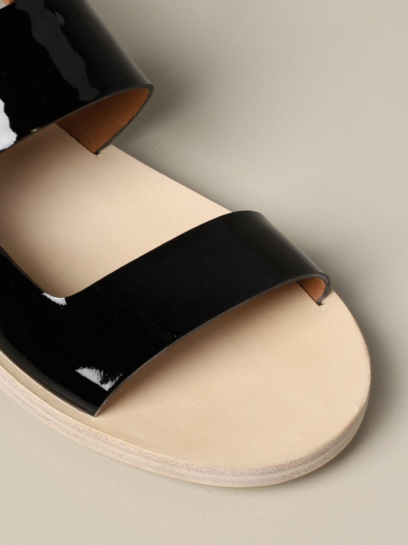 Sandalo Sandellone Marsèll in vernice nero 4