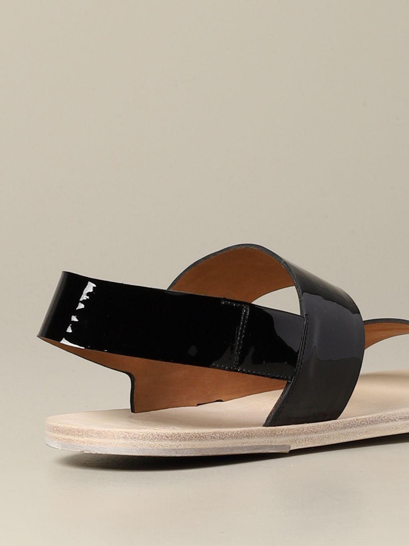 Sandalo Sandellone Marsèll in vernice nero 5