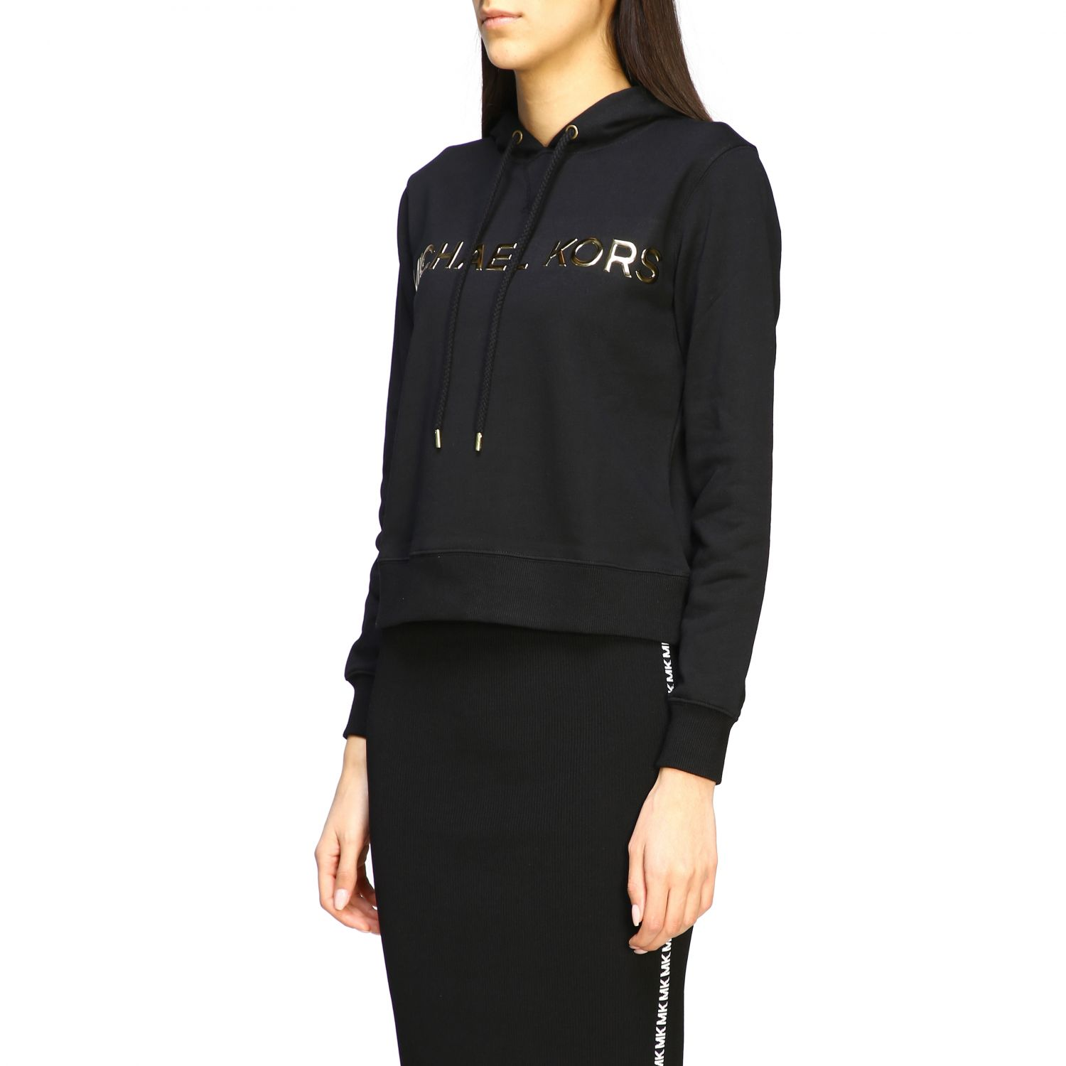 Sweatshirt women Michael Michael Kors black 4