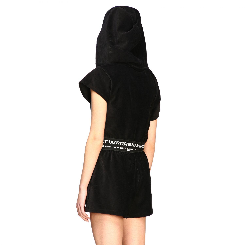 Alexander Wang short-sleeved sweatshirt with logo black 3