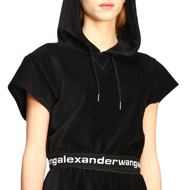 Alexander Wang short-sleeved sweatshirt with logo black 5
