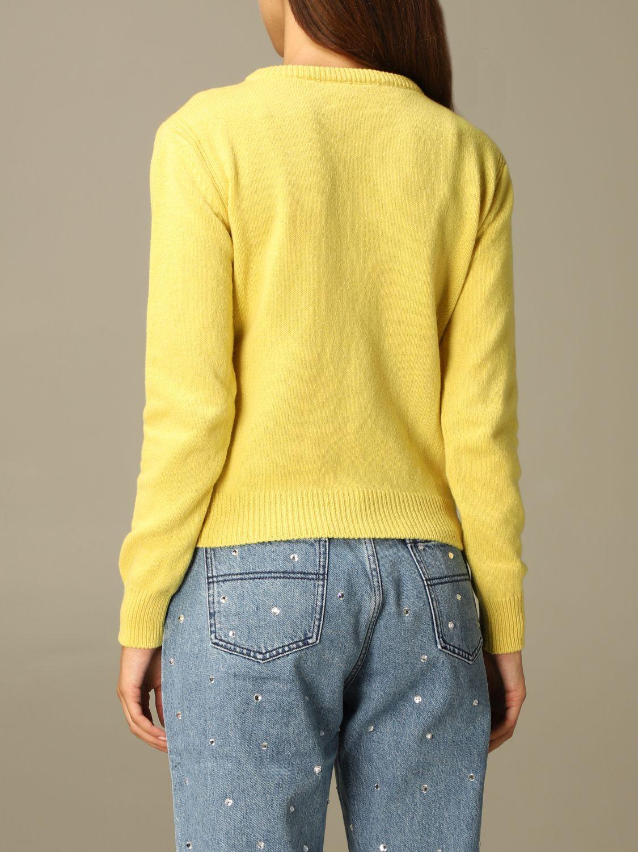 Свитер Alberta Ferretti: Свитер Женское Alberta Ferretti желтый 2