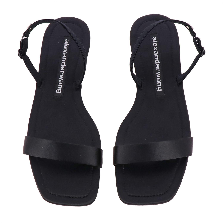 Flat sandals women Alexander Wang black 3