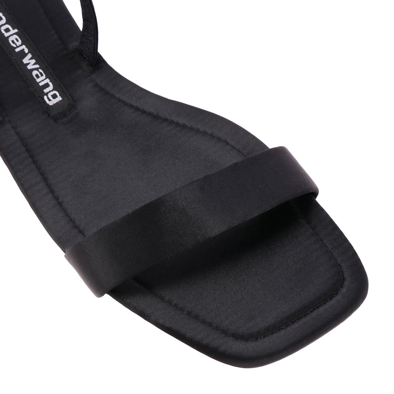 Flat sandals women Alexander Wang black 4