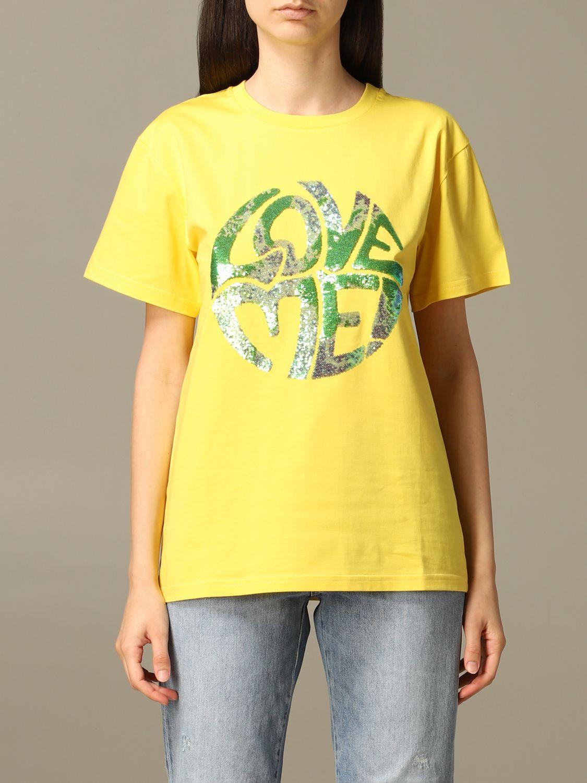 T-Shirt Alberta Ferretti: T-shirt women Alberta Ferretti yellow 1