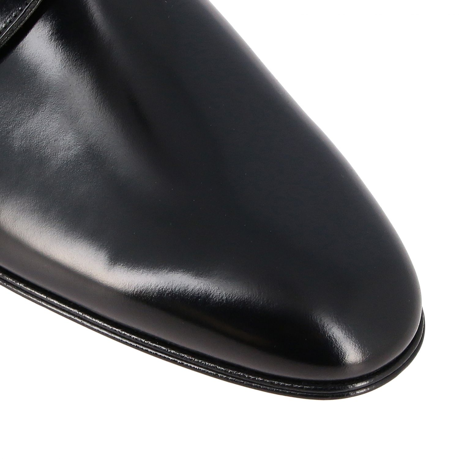 Brogue shoes Dolce & Gabbana: Dolce & Gabbana classic lace-up shoe in shiny leather black 4