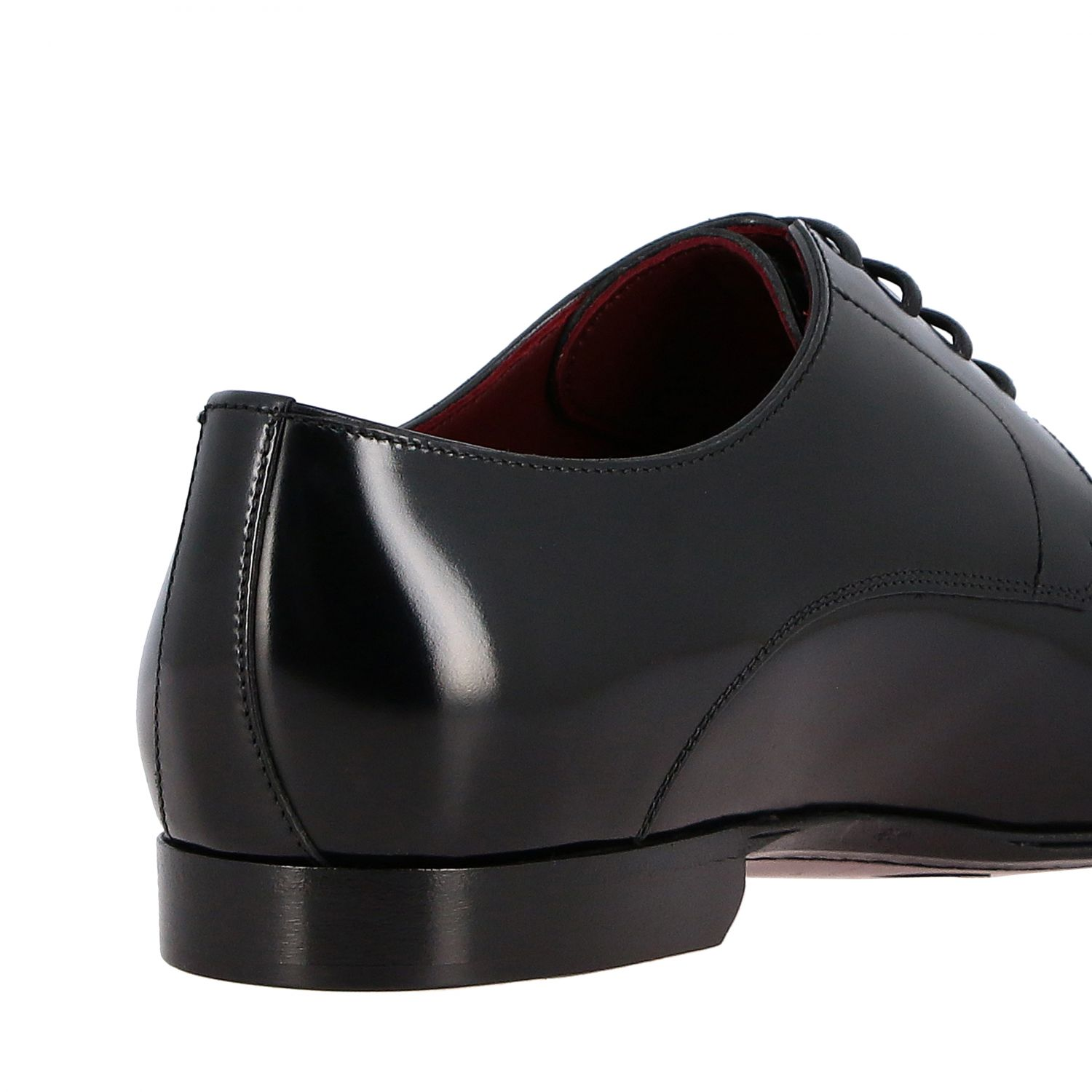 Brogue shoes Dolce & Gabbana: Dolce & Gabbana classic lace-up shoe in shiny leather black 5