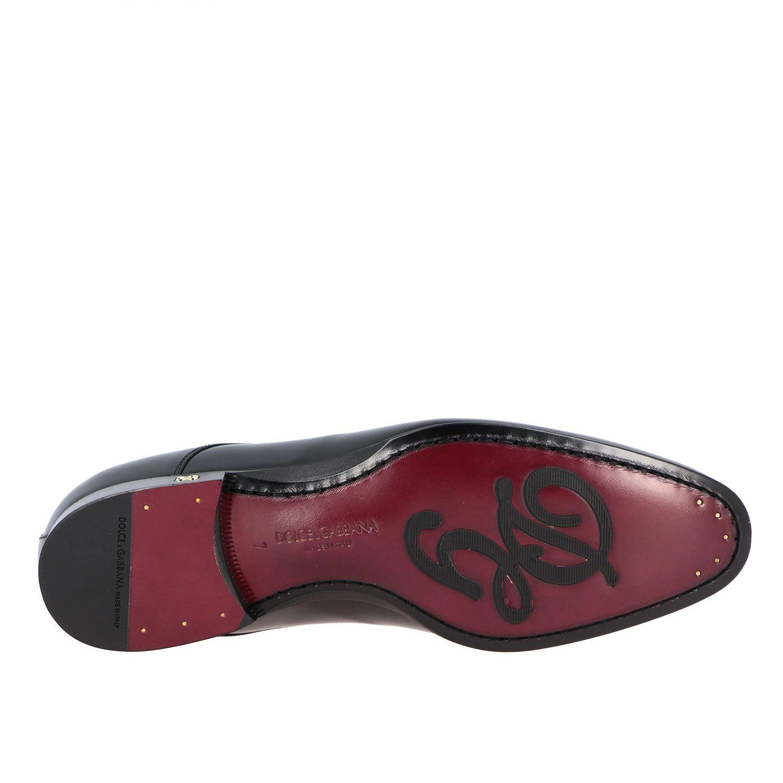 Schnürschuhe Dolce & Gabbana: Dolce & Gabbana Schnürschuhe aus glänzendem Leder schwarz 6