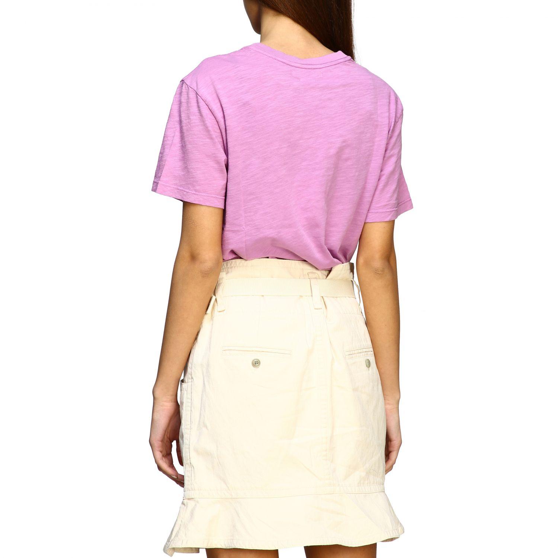 Isabel Marant Etoile T-Shirt mit Prints violett 3