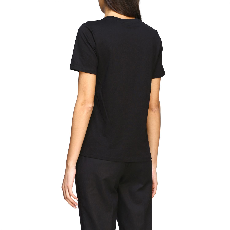 T-shirt Michael Michael Kors con logo di paillettes nero 3