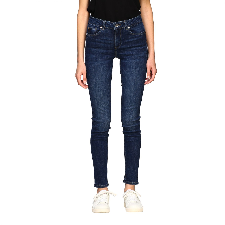 Jeans mujer Liu Jo azul oscuro 1