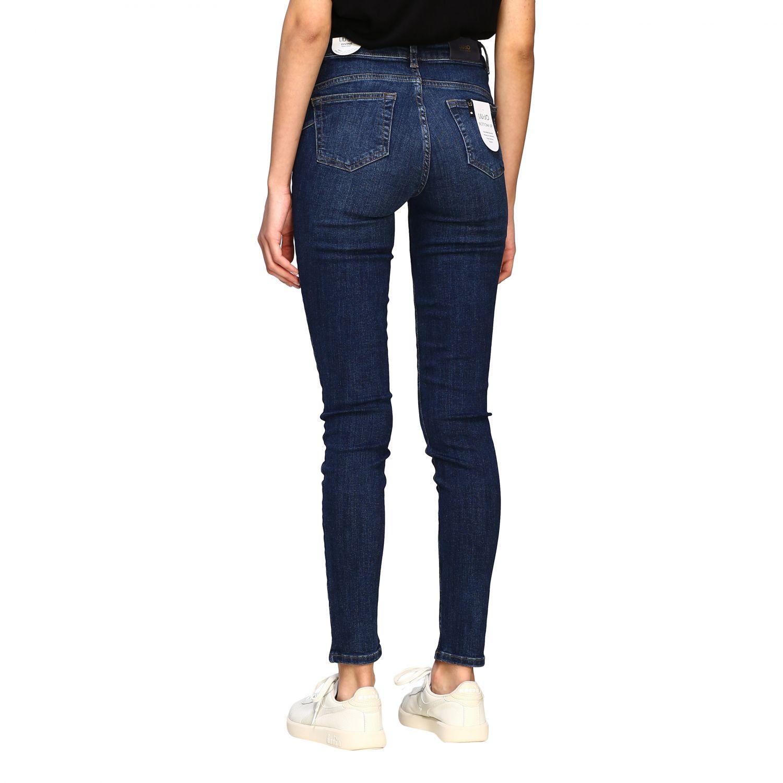 Jeans mujer Liu Jo azul oscuro 2