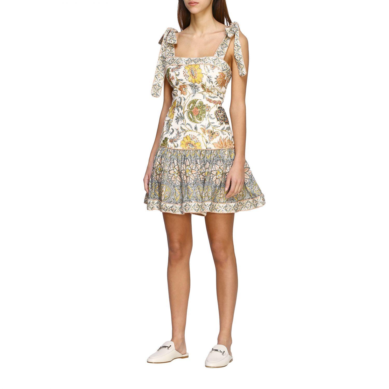 Robes Zimmermann: Robe Zimmermann à motif floral ancien multicolore 3