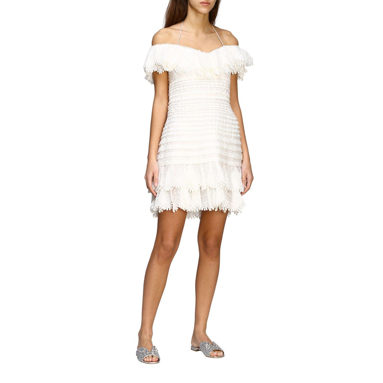Robes femme Zimmermann blanc 1