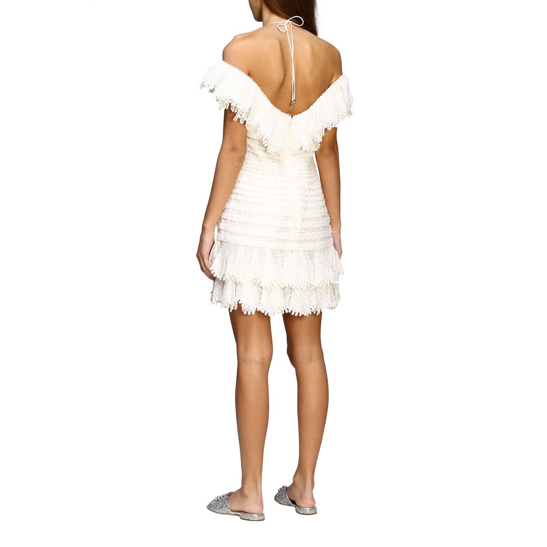 Robes femme Zimmermann blanc 2