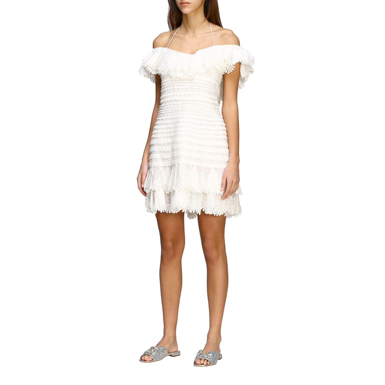 Robes femme Zimmermann blanc 3