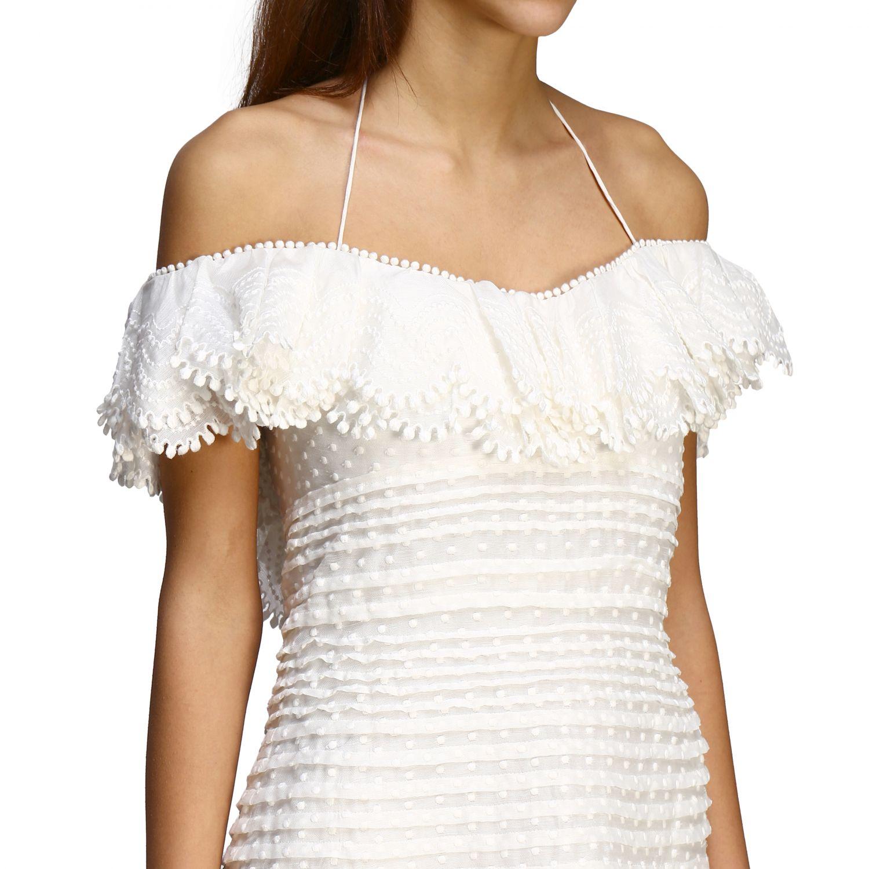 Robes femme Zimmermann blanc 4