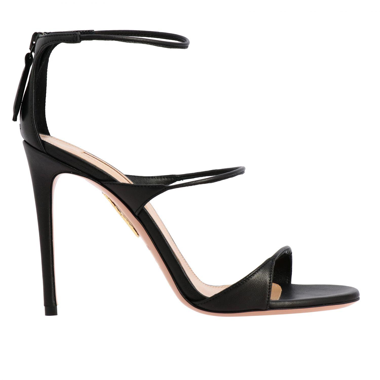 Heeled sandals Aquazzura: Heeled sandals women Aquazzura black 1
