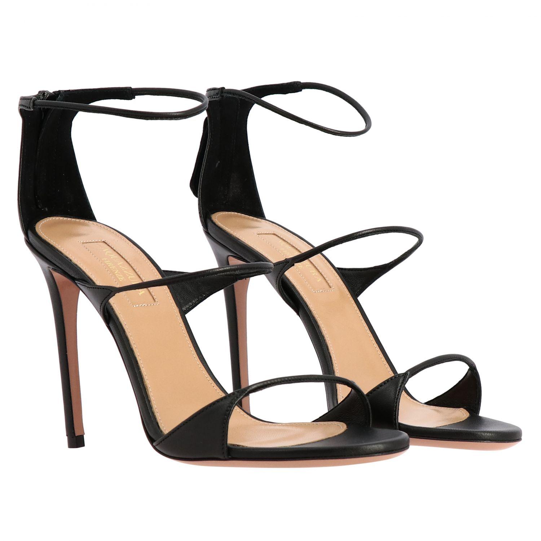 Heeled sandals Aquazzura: Heeled sandals women Aquazzura black 2