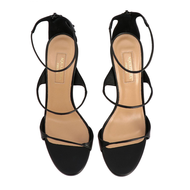 Heeled sandals Aquazzura: Heeled sandals women Aquazzura black 3