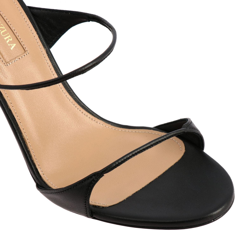 Heeled sandals Aquazzura: Heeled sandals women Aquazzura black 4