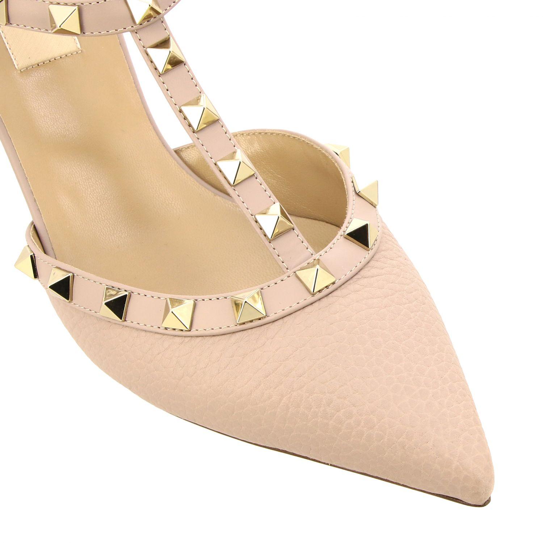 Heeled sandals women Valentino Garavani beige 3
