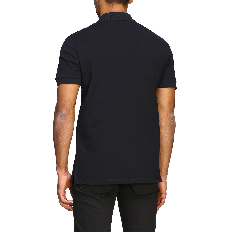 Polo shirt Alexander Mcqueen: Alexander Mcqueen short-sleeved polo shirt with skull black 3