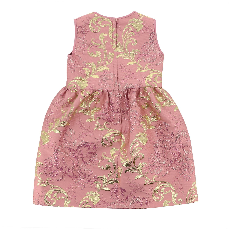 Abito Dolce & Gabbana: Abito Dolce & Gabbana in broccato rosa 2