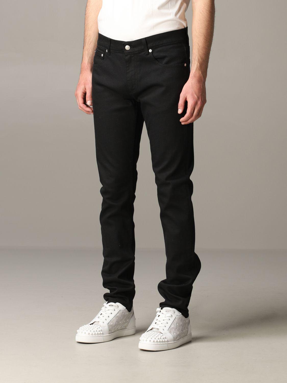 Jeans Mcq Mcqueen: Jeans hombre Mcq Mcqueen negro 4