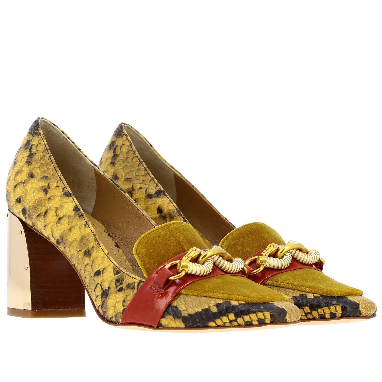 Court shoes Tory Burch: High heel shoes women Tory Burch red 2