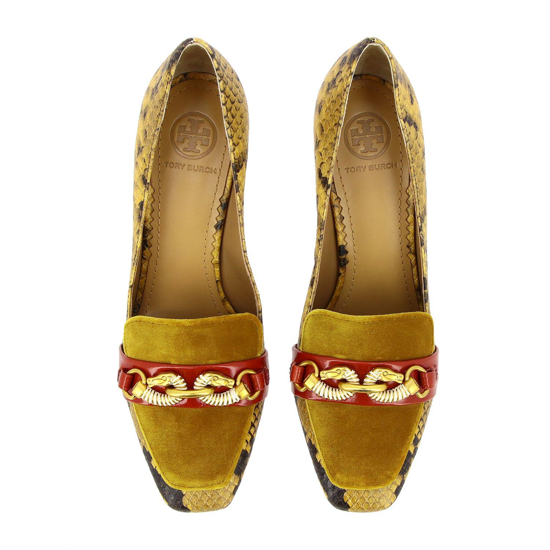 Court shoes Tory Burch: High heel shoes women Tory Burch red 3