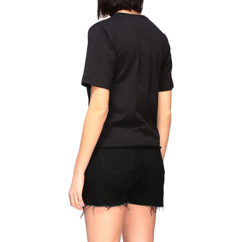 Saint Laurent T-Shirt mit Logo schwarz 3