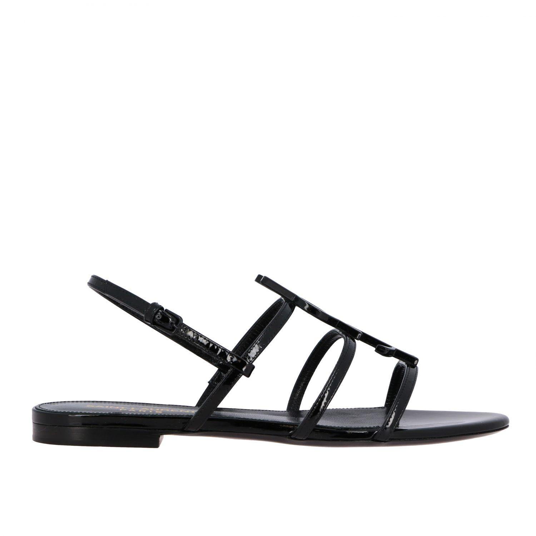 Flat Sandals Saint Laurent 552245 0NPVV
